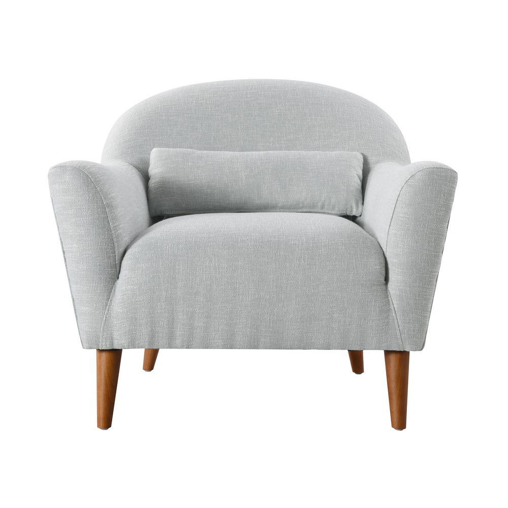 Piper Seafoam Green Recessed Arm Chair