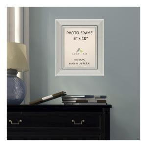 Amanti Art Romano 8 inch x 10 inch Silver Picture Frame by Amanti Art