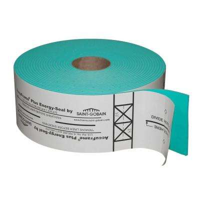 4-7/8 in. x 50 ft. Foam Tape for Air Sealing and Precision-Framing Guide Tape on Wall Systems (3-Rolls per Case)
