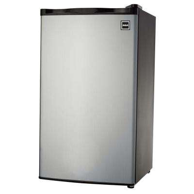 3.2 cu. ft. Mini Refrigerator in Platinum
