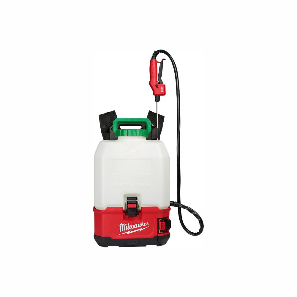 Milwaukee M18 18 Volt 4 Gal Lithium Ion Cordless Switch Tank Backpack Pesticide Sprayer Tool Only