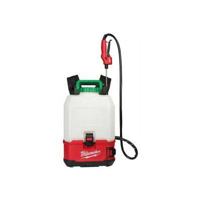 M18 18-Volt 4 Gal  Lithium-Ion Cordless Switch Tank Backpack Pesticide  Sprayer (Tool-Only)