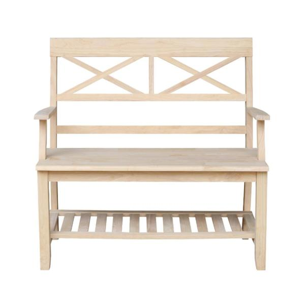 International Concepts Unfinished Bench