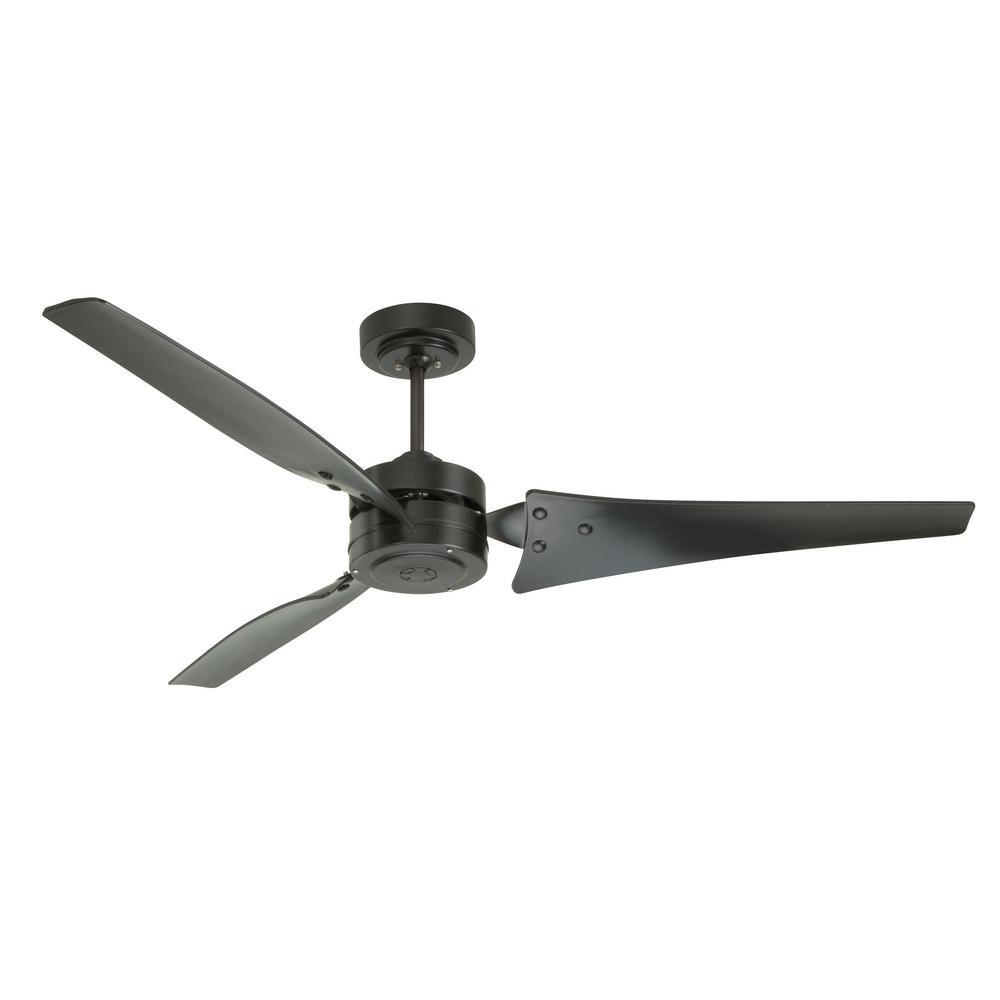 High Speed Outdoor Ceiling Fans: Emerson Loft 60 In. Indoor / Outdoor Barbeque Black