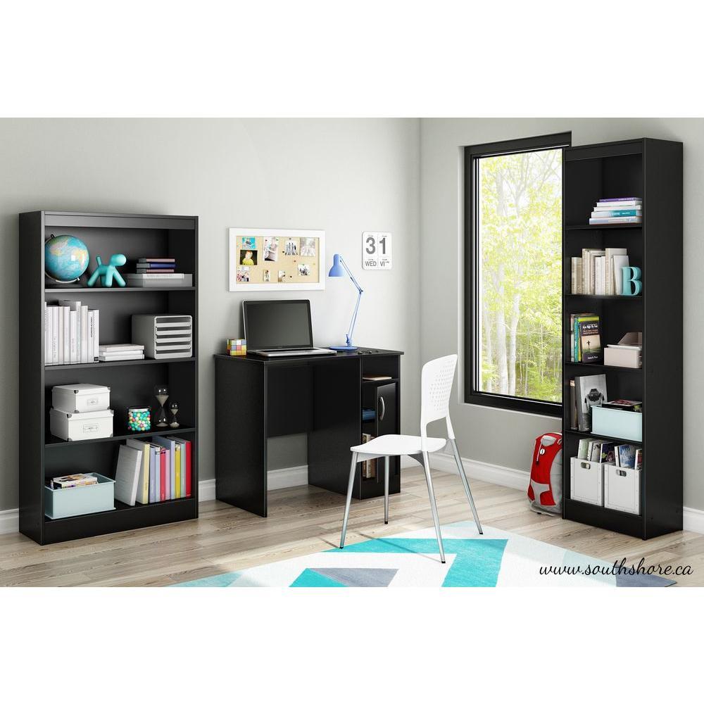 Axess Desk in Pure Black