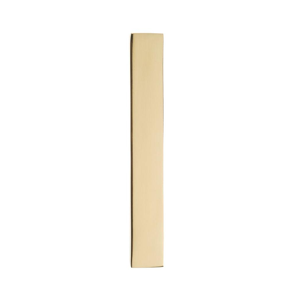 Architectural Mailboxes 4 in. Polished Brass Floating House Number 1