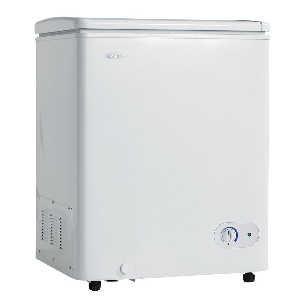 Danby 3.6 cu. ft. Chest Freezer in white