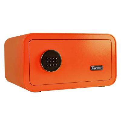 Edge Series 1.2 cu. ft. Electronic Personal Security Safe in Orange