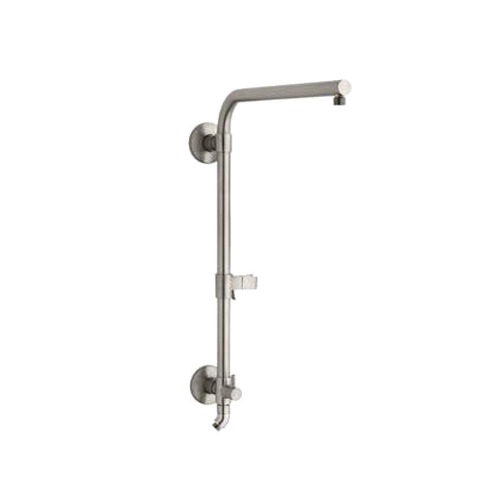 HydroRail 21-3/4 in. H Shower Column in Brushed Nickel