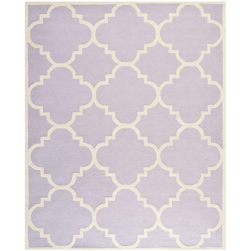 Cambridge Lavender/Ivory 8 ft. x 10 ft. Area Rug