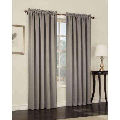 Gregory Room Darkening Pole Top Curtain Panel