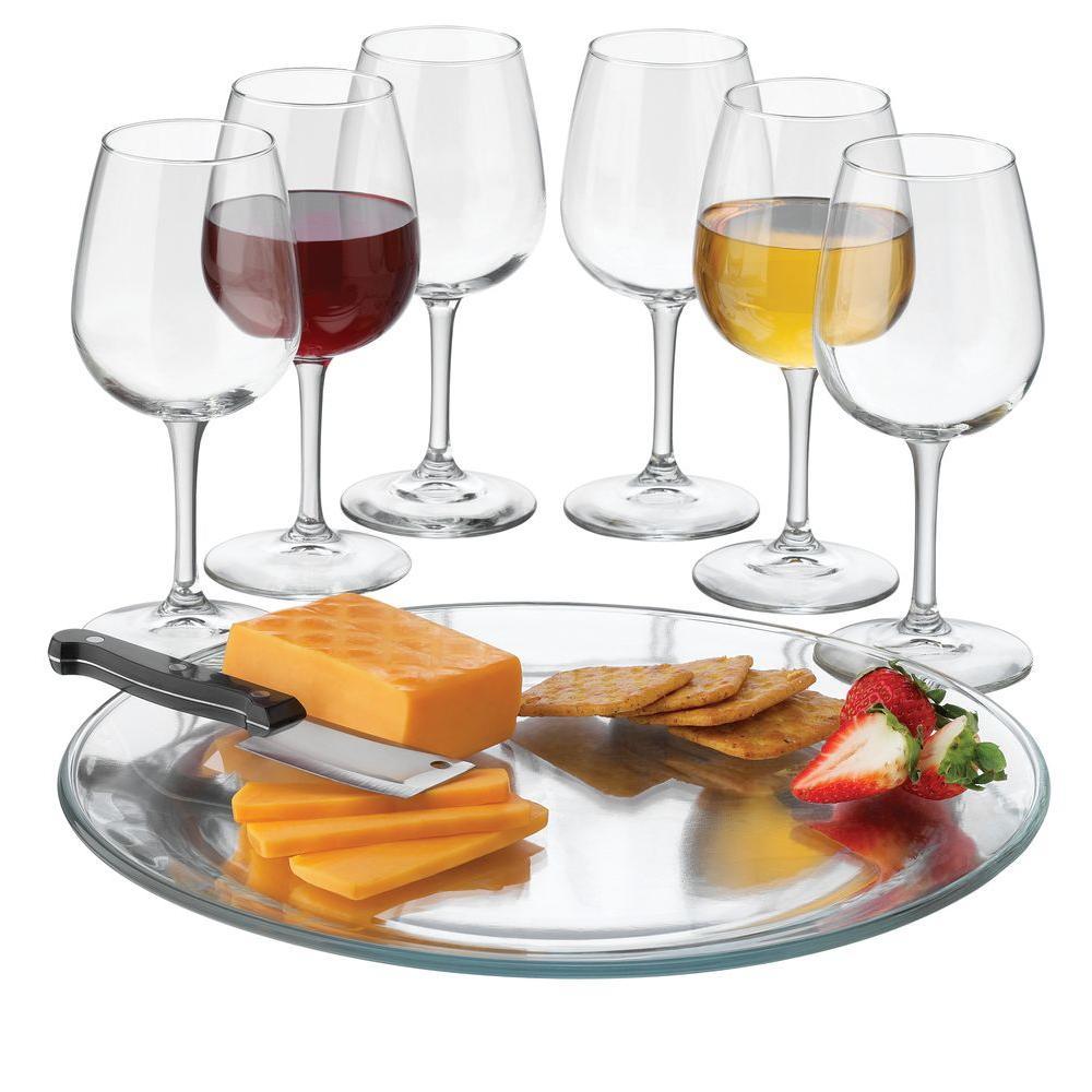Libbey Wine Service 8-Piece Set in Clear