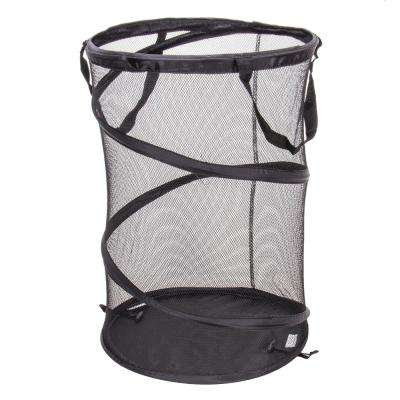 Pop-Up Hamper with Mesh Bellyband