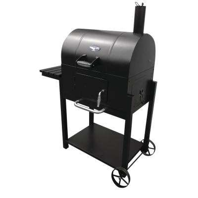 Lone Star Charcoal Grill in Black