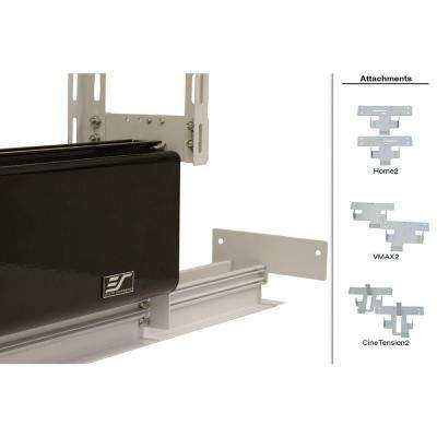 36 in. H x 64 in. W Universal Ceiling Trim Kits for Electric Screen with Electric 100V, 84H, 100H