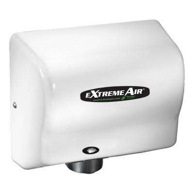 eXtremeAir Original High-Speed Electric Hand Dryer, Compact, Energy-Efficient Hand Dryer - Steel With White Epoxy Cover