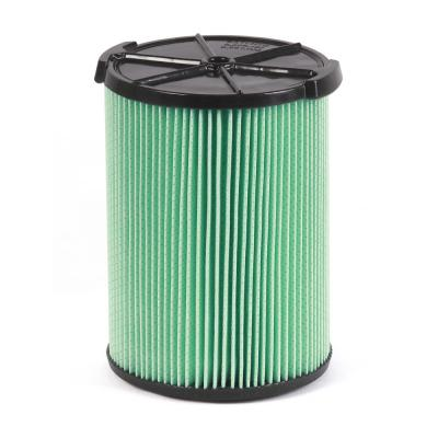 5-Layer HEPA Material Pleated Paper Filter for Most 5 Gal. and Larger RIDGID Wet/Dry Shop Vacuums