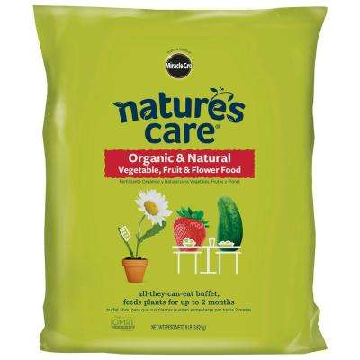 8 lb. Nature's Care Organic Vegetable, Fruit and Flower Food
