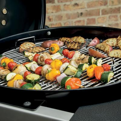 22 in. Performer Deluxe Charcoal Grill in Copper with Built-In Thermometer and Digital Timer