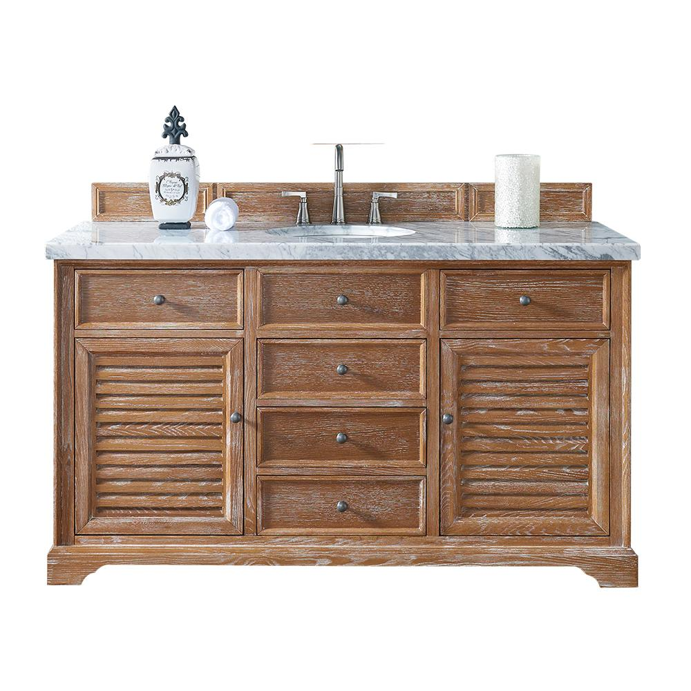 James Martin Signature Vanities Savannah 60 In W Single Vanity In