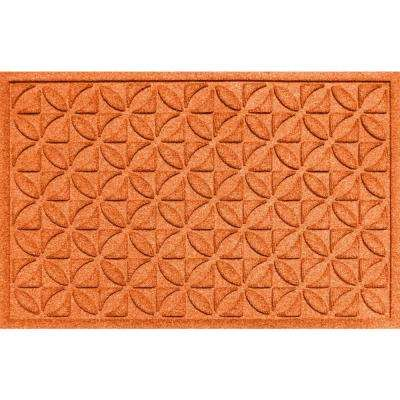 Heritage Orange 24x36 Polypropylene Door Mat