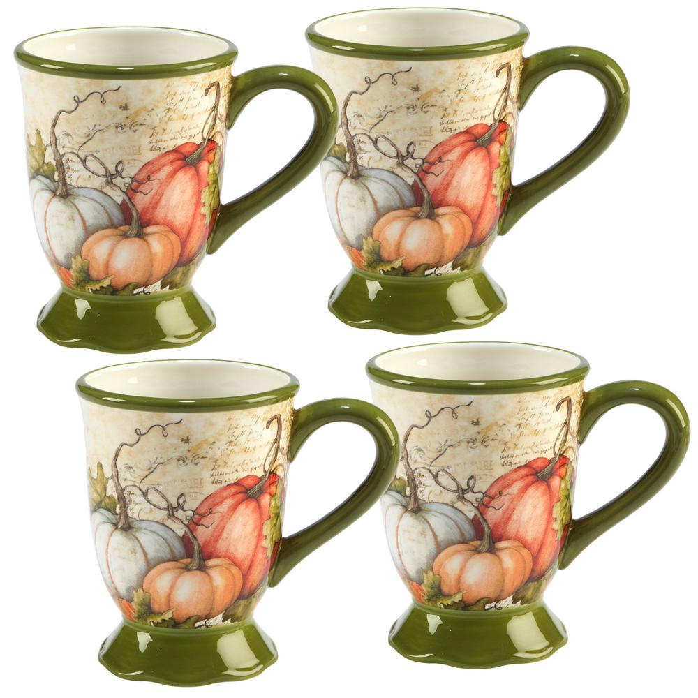 Autumn Fields by Susan Winget 18 oz. Mug (Set of 4)