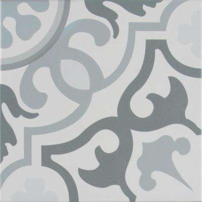 Flori Encaustic 8 in. x 8 in. Glazed Porcelain Floor and Wall Tile (5.33 sq. ft. / case)