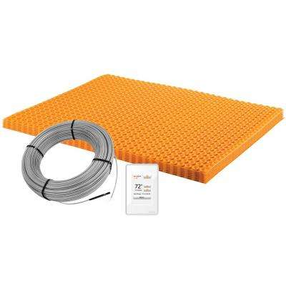 Enjoyable Ditra Heat 60 3 Sq Ft Electric Floor Warming Kit Interior Design Ideas Jittwwsoteloinfo