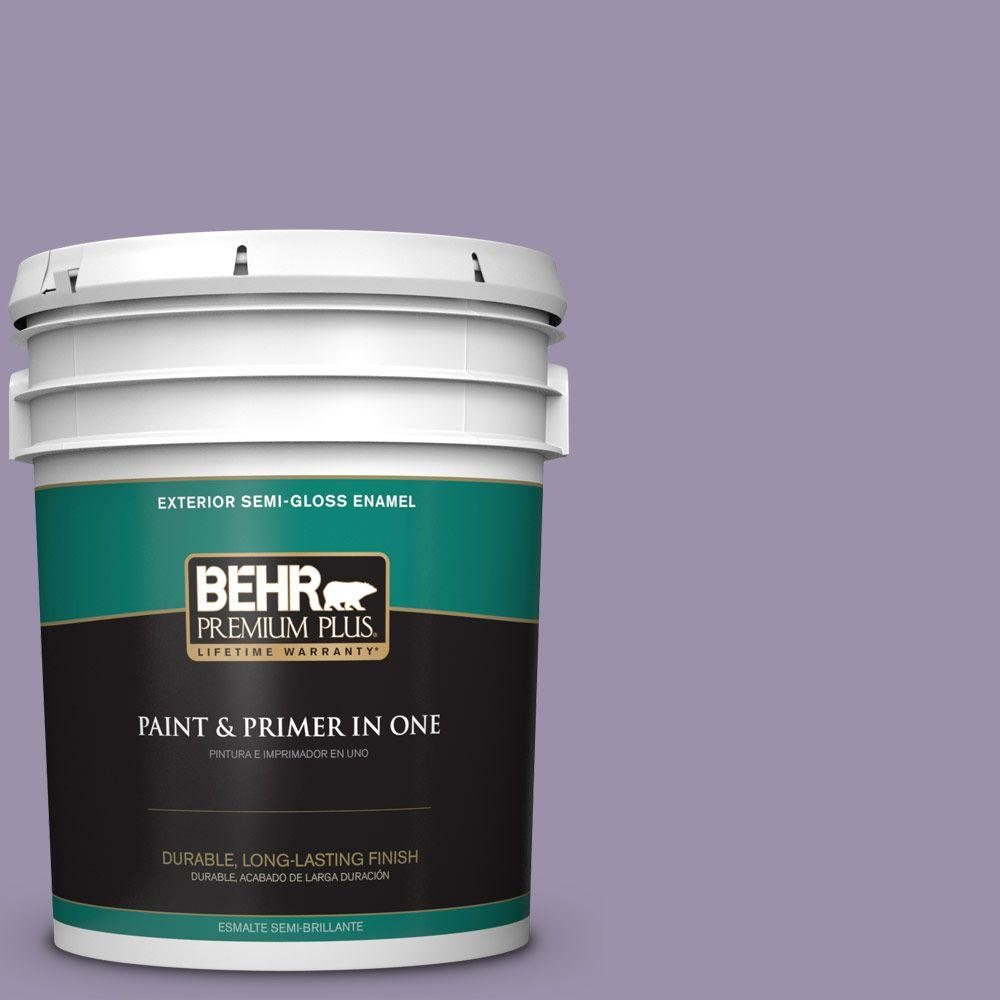 5-gal. #650F-4 Delectable Semi-Gloss Enamel Exterior Paint