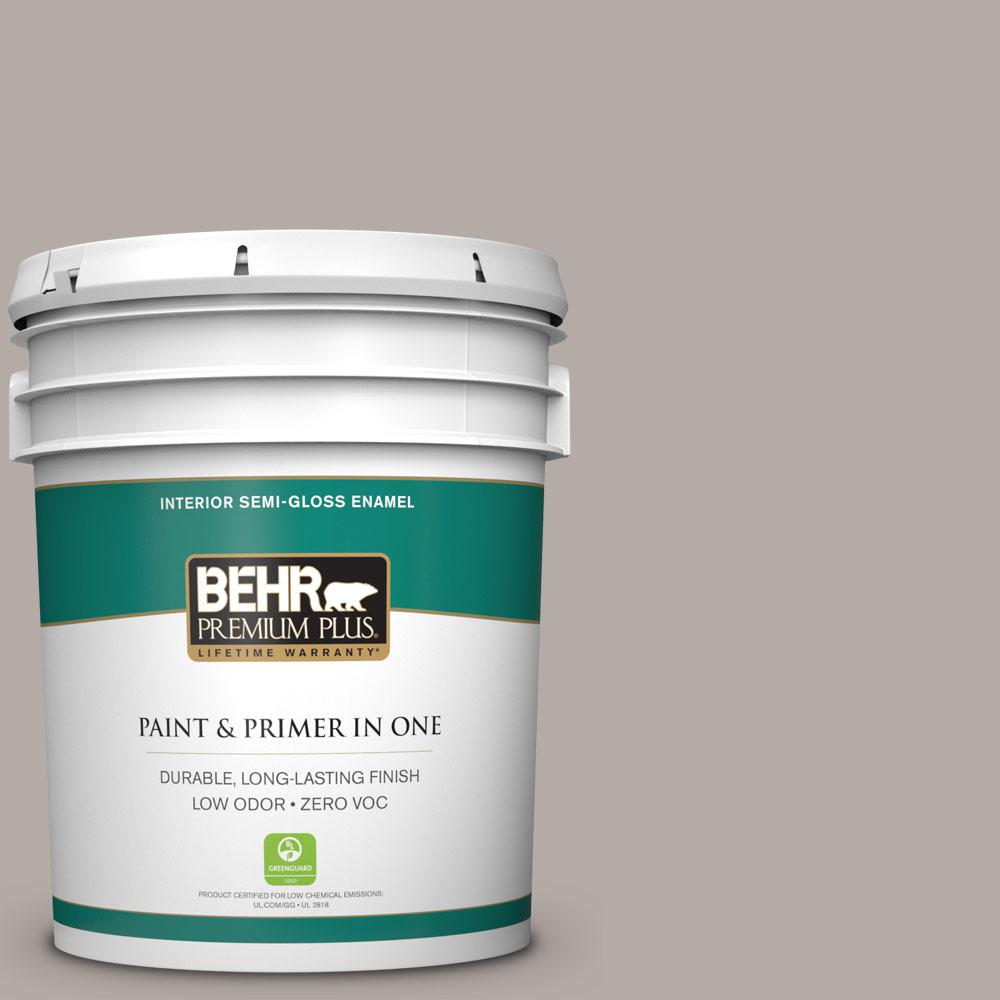 5-gal. #BXC-16 City of Bridges Semi-Gloss Enamel Interior Paint