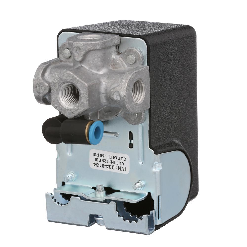 Noblik Uniparous Air Compressor Pressure Switch Control Valve 175PSI 240V.