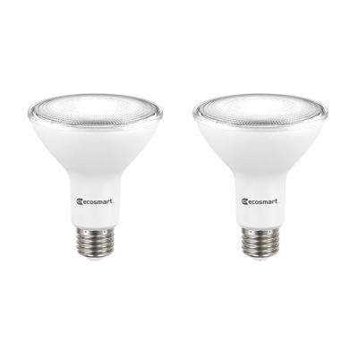 75-Watt Equivalent PAR30 Dimmable Energy Star Flood LED Light Bulb Daylight (2-Pack)