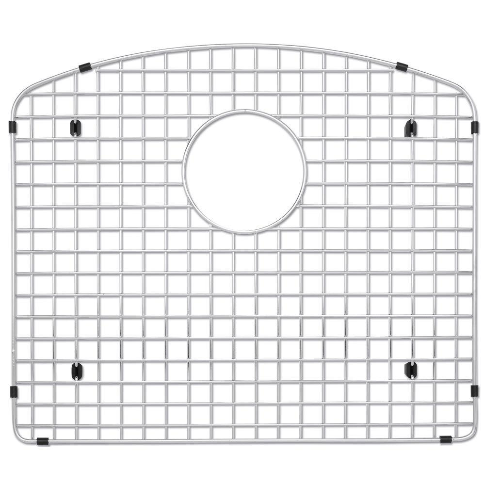 Stainless Steel Sink Grid Fits Diamond Single Bowl