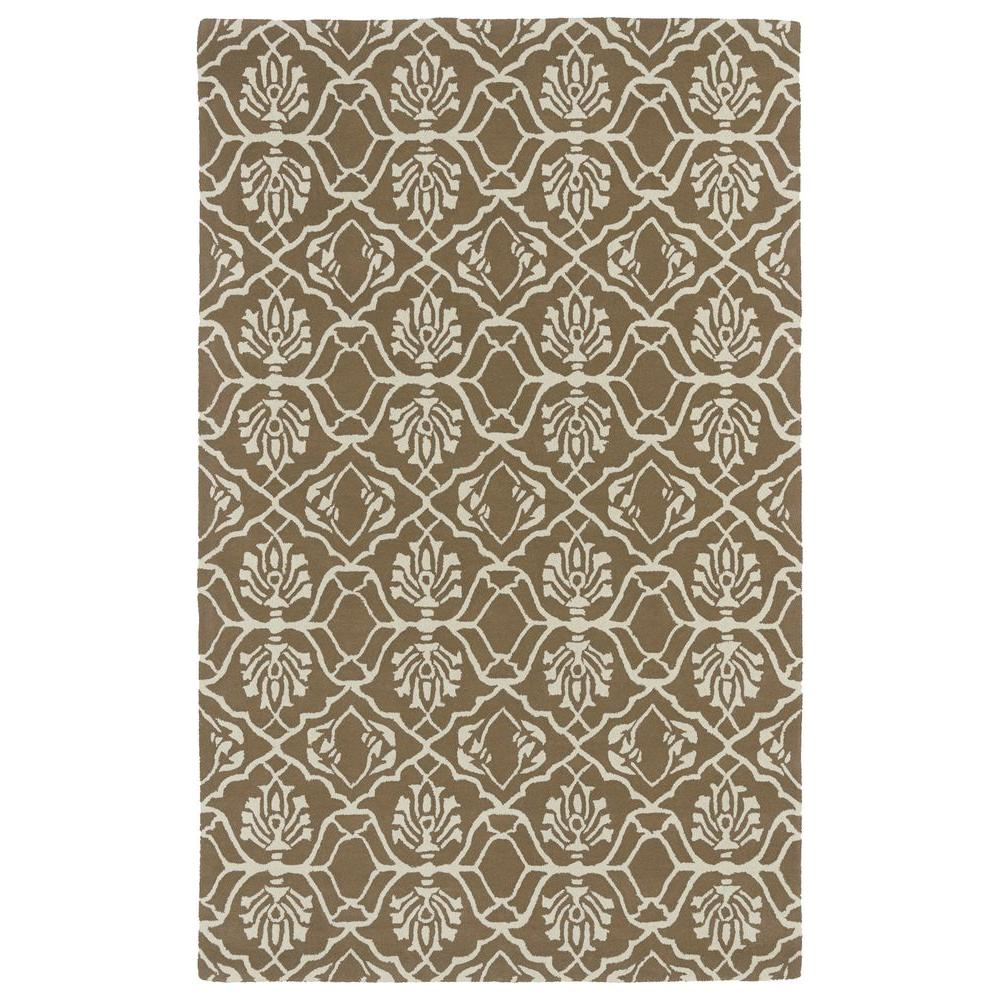 Evolution Light Brown 5 ft. x 7 ft. 9 in. Area