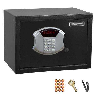 0.60 cu. ft. Mid-Size Steel Security Safe with Digital Lock, Black