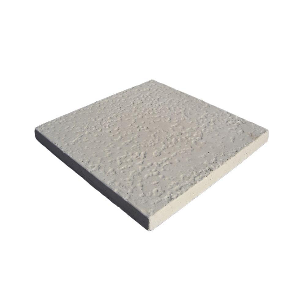 Classic Stone KoolCrete 16 in. x 16 in. Beige Blend Concrete Step Stone