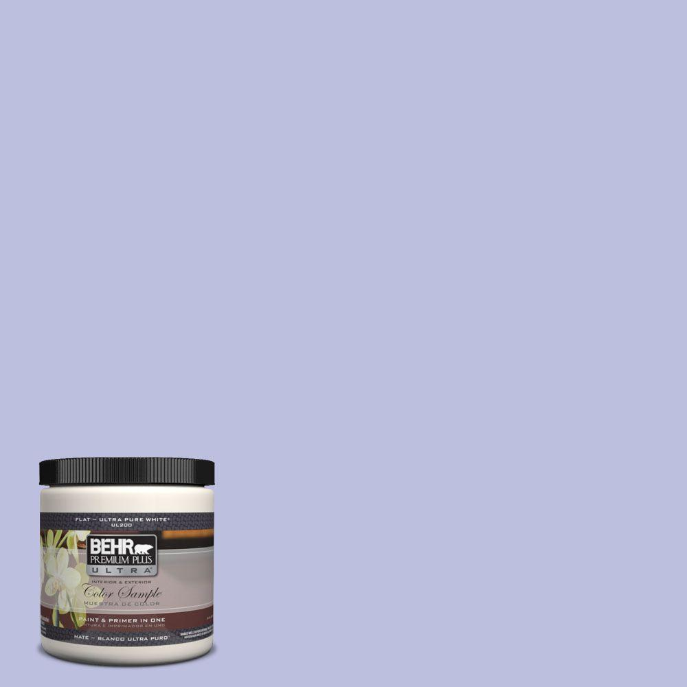 8 oz. #620A-3 Rhapsody Lilac Interior/Exterior Paint Sample