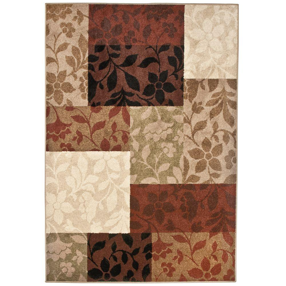 null Cantana Patchwork Multi 7 ft. 8 in. x 10 ft. 10 in. Area Rug