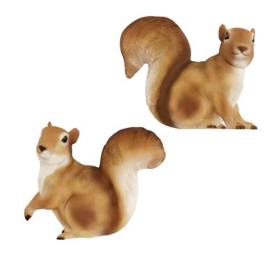 Lawn and Garden Squirrel Statues (Set of 2)