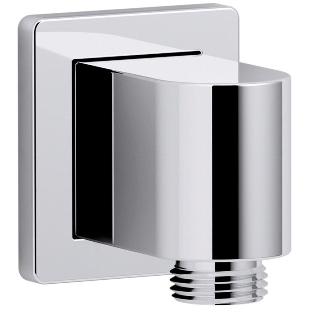 KOHLER Awaken Wall-Mount Supply Elbow in Polished Chrome