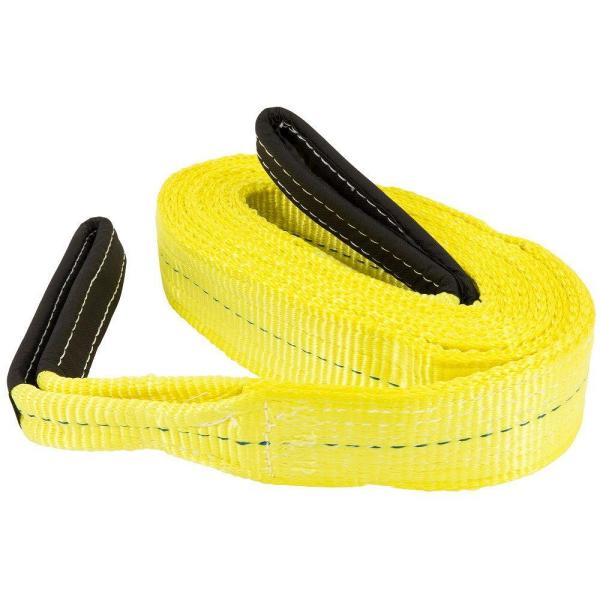 3 in. x 16 ft. 2 Ply Flat Loop Polyester Lift Sling