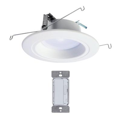 5 and 6 in. Tunable CCT Bluetooth Smart Integrated LED Recessed Trim with In-Wall Accessory Dimmer by HALO Home
