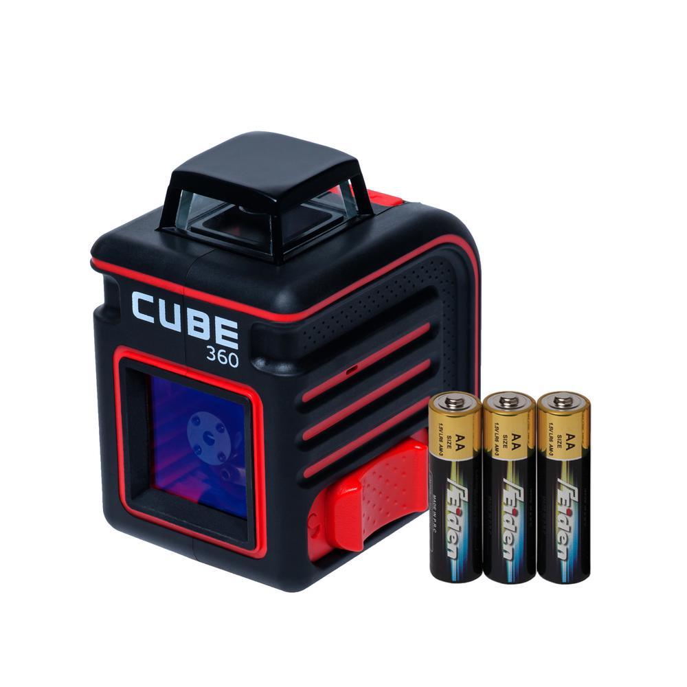 Cube 360 Cross Line Laser Level Basic Edition