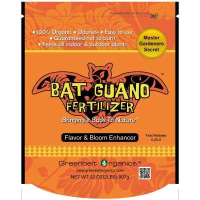 Bat Guano 2 lb. Organic Powder Fertilizer Bag