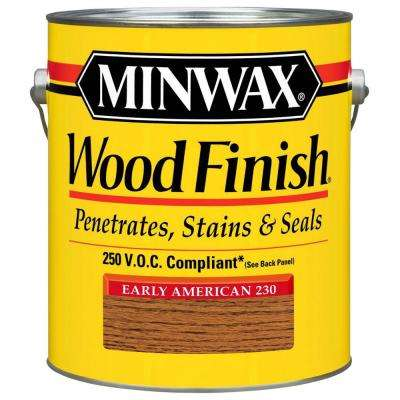 1 gal. Early American Wood Finish 250 VOC Oil-Based Interior Stain (2-Pack)
