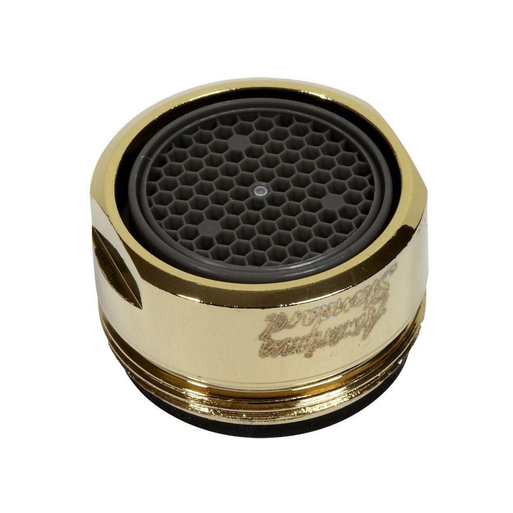 1.5 GPM Male 15/16 27 UNS Aerator in Polished Brass