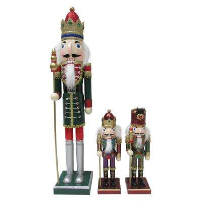 Nut Cracker Set in Green (Pack of 3)