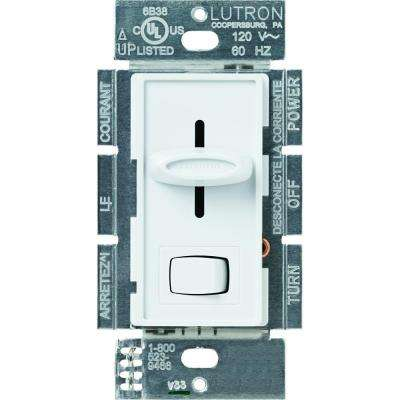 Skylark 1000-Watt Single-Pole Preset Dimmer - White