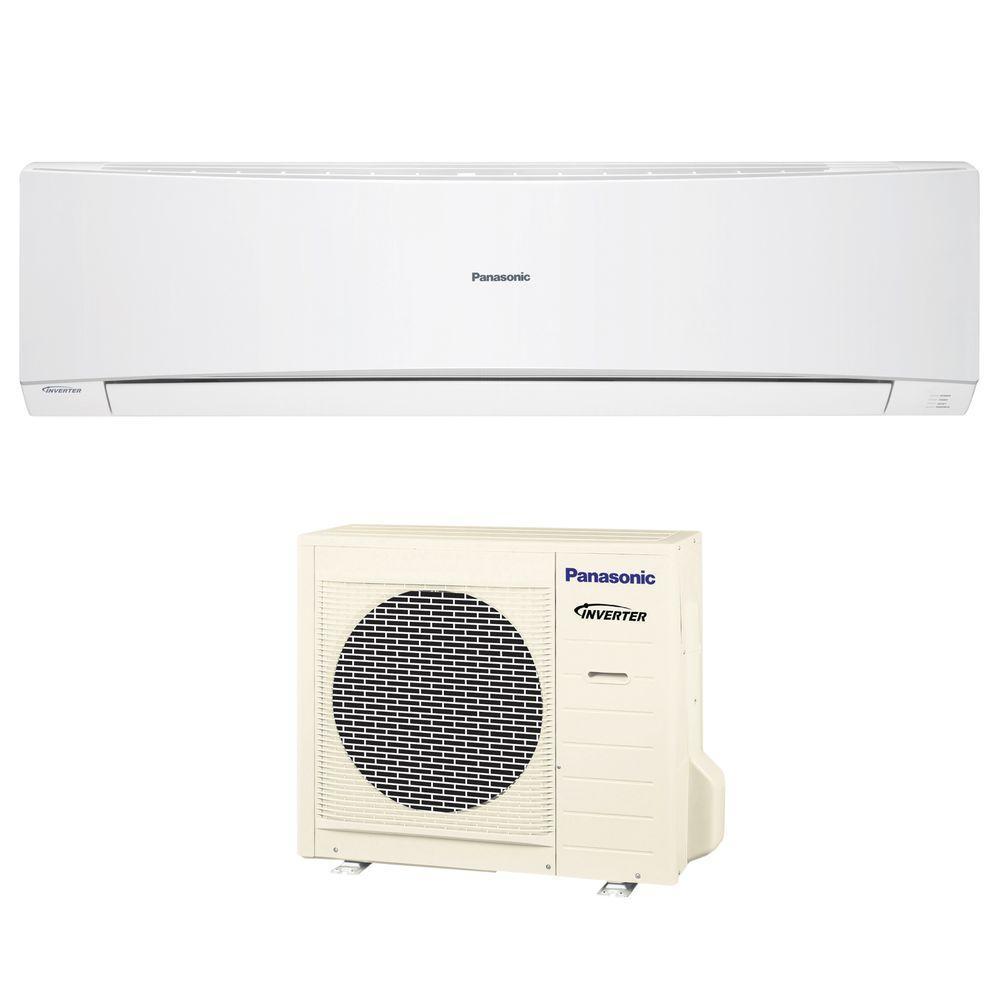 Panasonic 27200 BTU Ductless Mini Split Air Conditioner with Heat Pump - 230Volt