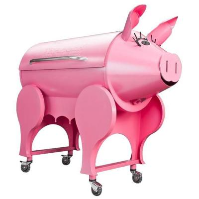 Lil' Pig Electrical Pellet Grill and Smoker in Pink